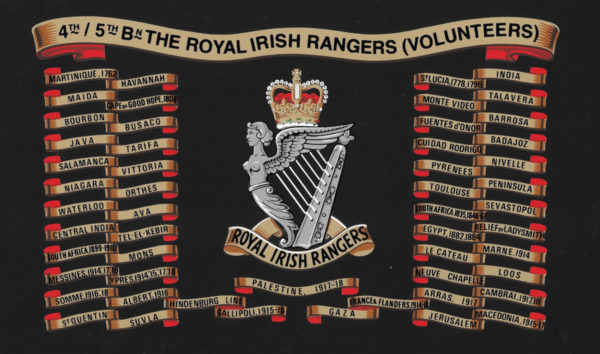 4th 5th Royal Irish Rangers Volunteers