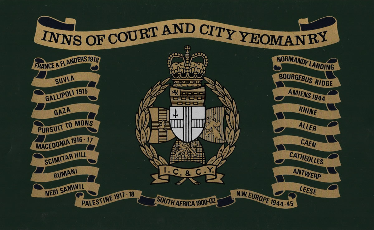 Inns of Court   City Yeomanry Ice Bucket – Regimental Replicas 8d4c3a36ba2