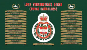 Lord Strathconas Horse