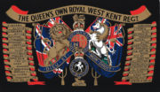 Princess of Wales Royal Regiment Ice bucket - queens-own-royal-west-kent-regiment