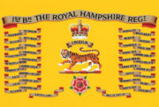 Princess of Wales Royal Regiment Ice bucket - royal-hampshire-regiment