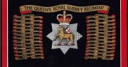 Princess of Wales Royal Regiment Ice bucket - queens-royal-surrey-regiment