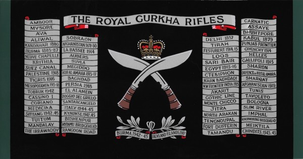 The Royal Gurkha Rifles