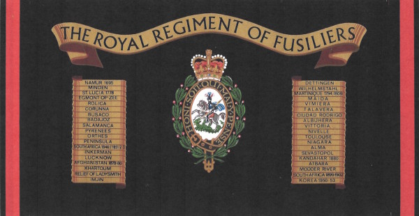 The Royal Regiment Of Fursiliers