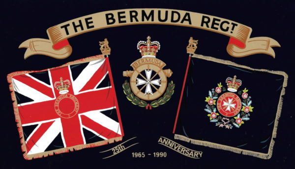 Bermuda Regiment 25th Anniversary